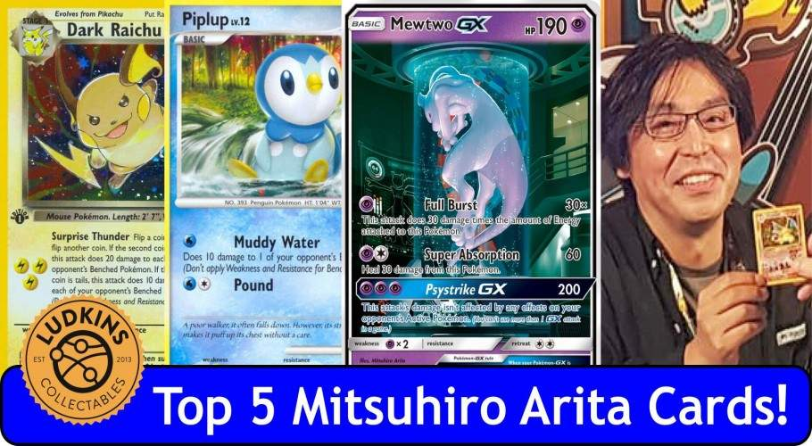 ​Top 5 Mitsuhiro Arita Pokémon Cards (not including Charizard!)