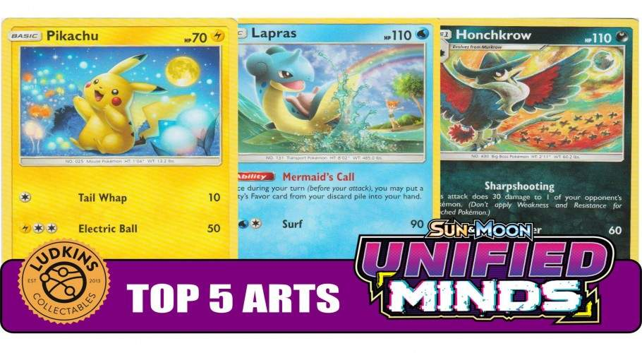NEW BIDOOF?! - Top 5 Non-GX Card Arts From Unified Minds!