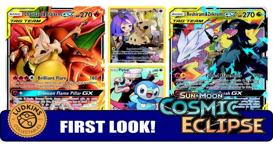 Cosmic Eclipse is our BIGGEST Pokemon TCG Set of All Time!