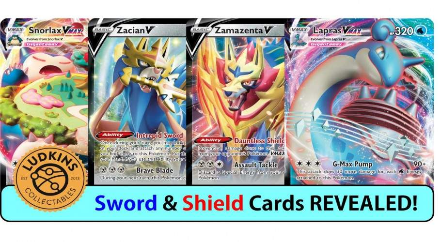 Pokémon Sword & Shield New Cards REVEALED!