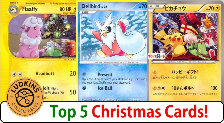 Top 5 Christmas Pokémon TCG Cards!