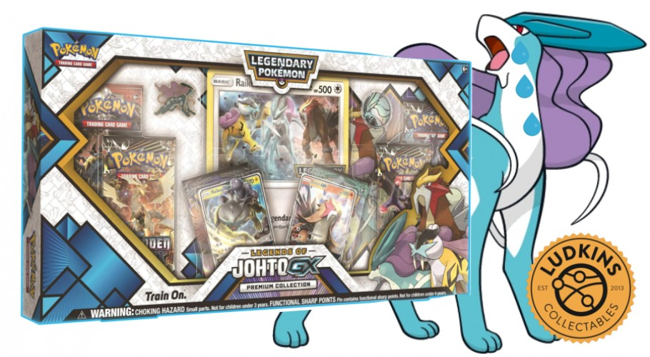 The Search for Suicune - Legends Of Johto-GX Premium Collection
