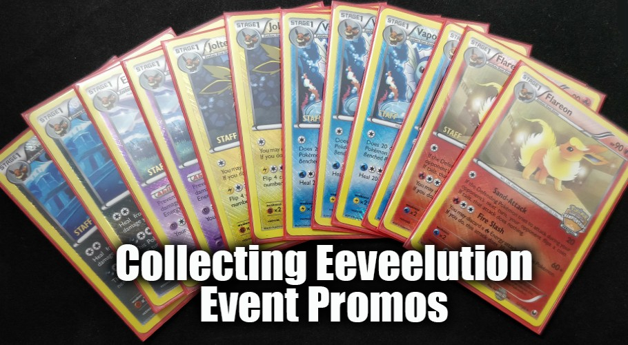 Collecting the Eeveelution Event Promos