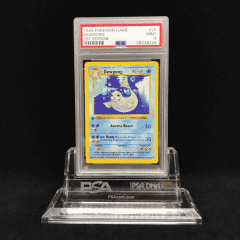 PSA 9 Mint Dewgong 25/102 1st Edition Shadowless Base Set Graded Card